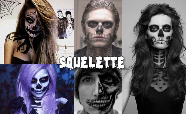halloween-maquillage-squelette